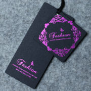 Custom-price-paper-tags-purple-foil-print-swing-Hang-tag-dress-1000-pcs-for-Main-tags